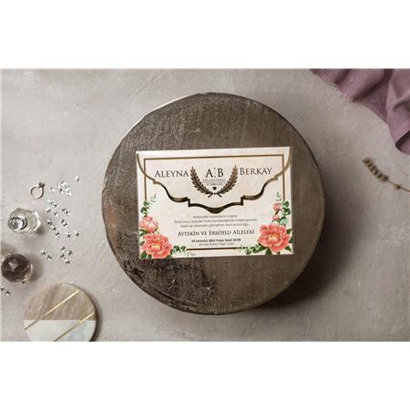 8431 Wedding Davetiye