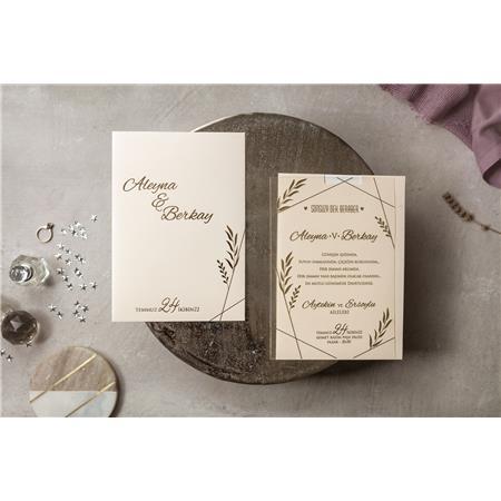8401 Wedding Davetiye