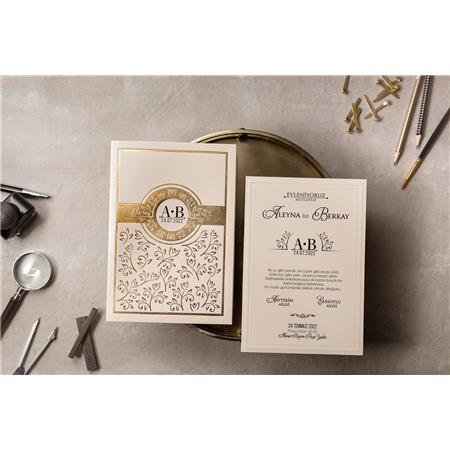 8390 Wedding Davetiye-1