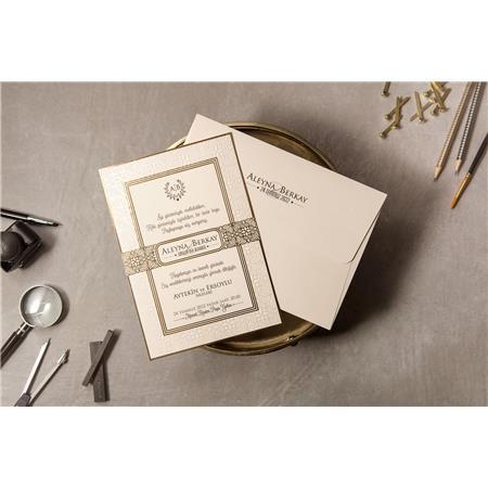 8380 Wedding Davetiye