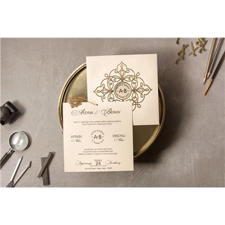 8326 Wedding Davetiye-1