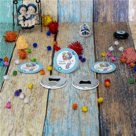 Metal Açacak Doğum Günü & Baby Shower Magneti DB 40