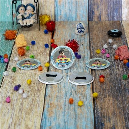 Metal Açacak Doğum Günü & Baby Shower Magneti DB 38