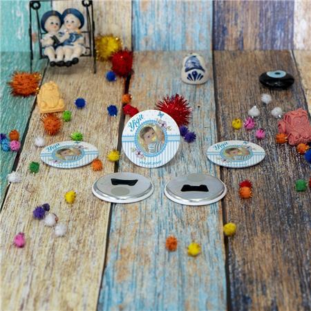 Metal Açacak Doğum Günü & Baby Shower Magneti DB 36