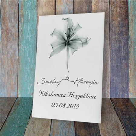 Düğün & Nikah & Nişan Karşılama Panosu KP 24