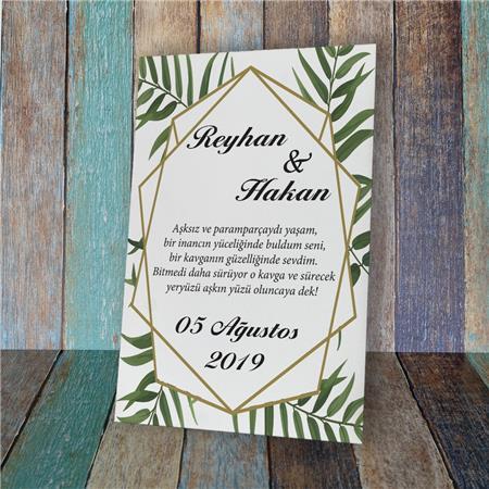 Düğün & Nikah & Nişan Karşılama Panosu KP 13