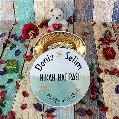 Düğün & Nikah & Nişan Çikolatası 100'lü NK 24