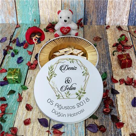 Düğün & Nikah & Nişan Çikolatası 100'lü NK 23