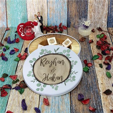 Düğün & Nikah & Nişan Çikolatası 100'lü NK 16