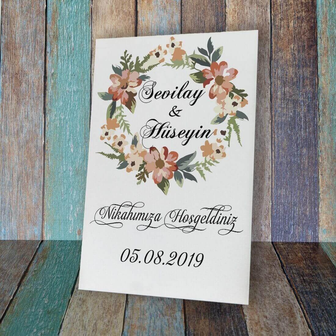 Düğün&Nikah&Nişan Karşılama Panosu