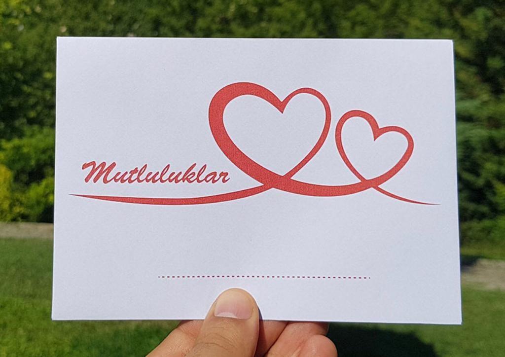 Düğün & Nikah Takı Zarfı